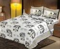 Pure Cotton Floral Print Double Bed Sheet