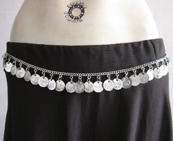 Waist Hip Fashion Jewelry Coin Chain Banjara Belt
