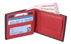 Red & Black Leather Wallets