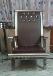 Stainless Steel Mahraja Chair