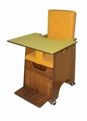 Albio Cp Chair for Childern With Activity Table, Special Kids Chair - Wooden Ply