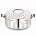 Stainless Steel Silver Max Hot Pot
