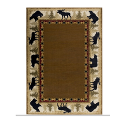 Brown Woolen Rugs