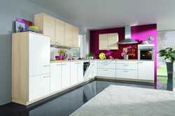 L Shaped Design Kitchen