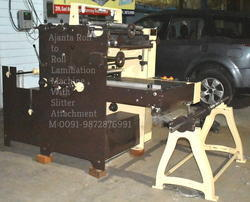 Roll to Roll Lamination Machine with Slitting Attachment