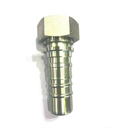 Brass Hydraulic Hose Pipe Fitting Bolt, Size: 1/2 Inch
