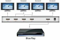 ROQ 1X4 HDMI Splitter