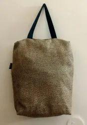 beige Plain recyc jute bags, Size: 14x16