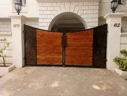 Commercial Wooden Swing Gate