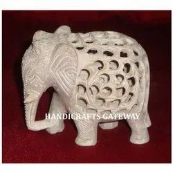 Beautiful Soapstone Elephants