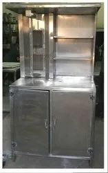Shawarma machine with rack