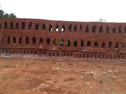 Rectangle Red Bricks, For Side Wall, For Construction