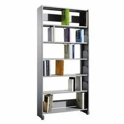 Fonzel BS1B61PT 1 Bay Library Shelving Starter Unit with Side Panels