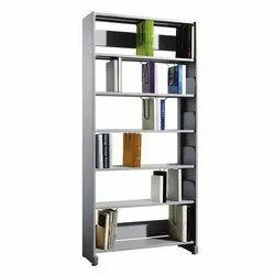 Fonzel BS1B61PT 1 Bay Library Shelving Starter Unit with Side Panels