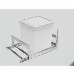 Kitchen Stainless Steel Grain Trolley