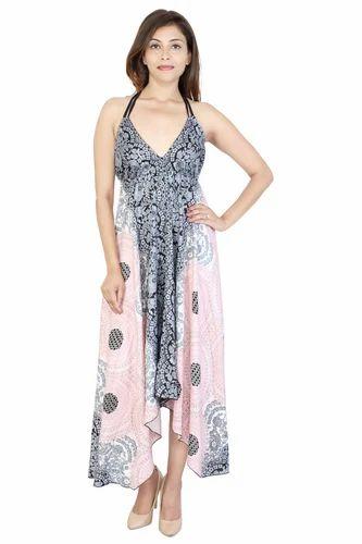 54e4aeec57 Women's Bohemian Dresses at Rs 430 /piece | Sanganer | Jaipur | ID ...
