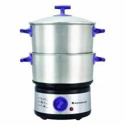 Wonderchef Nutri-Steamer with Egg Boiler Corporate Gifts, Capacity: 5 Liter