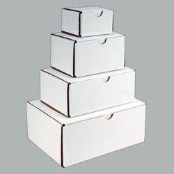 Vikas Packaging White Corrugated Box