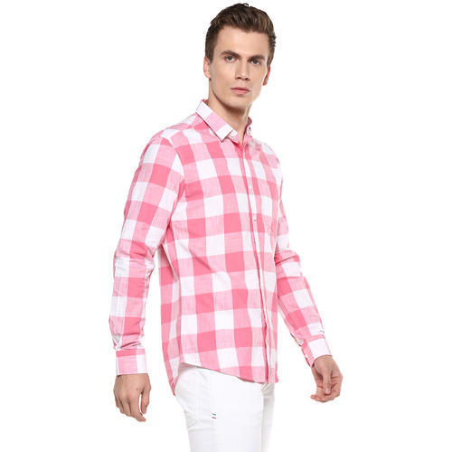 8391af5d Cotton Casual Mens Box Checkered Shirt Wear, Rs 895 /unit | ID ...