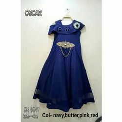 Blue Party Wear Ethnic Gown