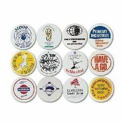 Button Plastic Badge