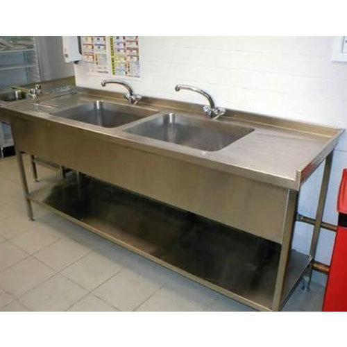 Laboratory stainless steel sink at rs 950 square feet - Commercial kitchen plumbing design ...