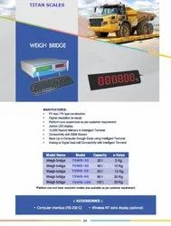Electronic Weigh Bridges