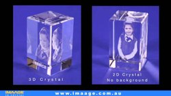 Transparent 3D Crystals Crystal Engraving