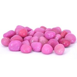 Dholpur Pink Polished Marble Pebbles