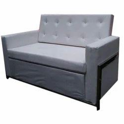 White Plain Sofa Set