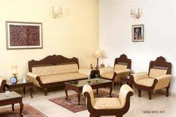 Rajwadi Teak Wood Sofa Set