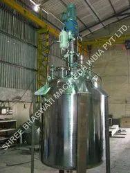 Liquid Detergent Mixing Vessel Tank