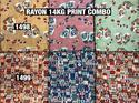Trendy Rayon Printed Fabric