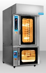 Rotary Convection Oven With Proover