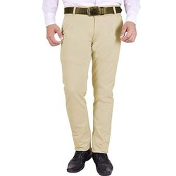 Men Regular Fit Cotton Trouser
