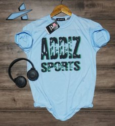 Printed Half Sleeve Addiz Cotton Round Neck Smart Men T-Shirt, Size: M-L-XL