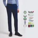 Natural Recycle Organic Cotton Mens Linen Trousers