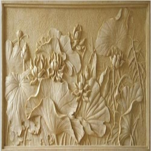 Beige Stone Carving