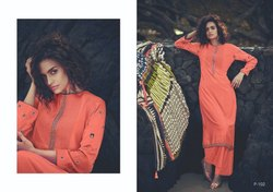 Varsha Fashions Pochampally Silk Exclusive Designer Ladies Suits