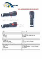Silicon Grand Aluminum alloy SG-LN-008 Hand Held LED Flash Light