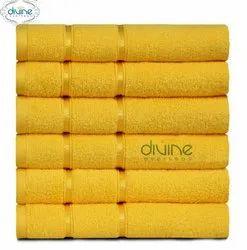 Cotton Plain Divine Overseas Allure 6 pcs Hand Towel Set