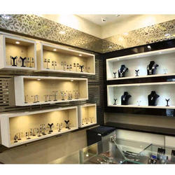 Jewelry Showroom Interior Decoration