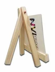 Customized Desk Calendar On Easel Stand