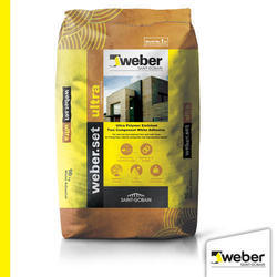 Weber set Ultra Polymer Enriched Two Component White Adhesive