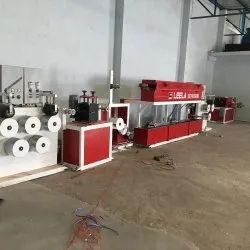 Semi Automatic PP Box Strapping Plant