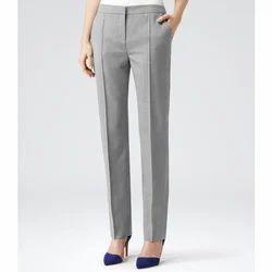 Ladies Cotton Plain Pant, Waist Size: 26.0, 28.0, 30.0 & 32.0