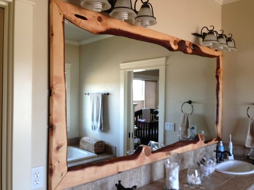 Pleasant Live Edge Wood Mirror Frame Creativecarmelina Interior Chair Design Creativecarmelinacom