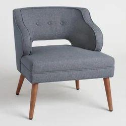 Wood Single Seater Sofa