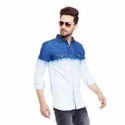 Cotton Dipped Denim Shirt