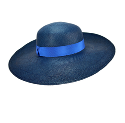 Blue Designer Hat